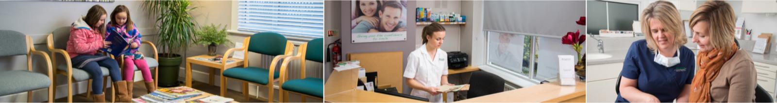 Karin Lewis and Ellie Bradley, staff at Wingham Dental Practice